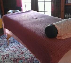 Massage Table at SOH 2012 (2)